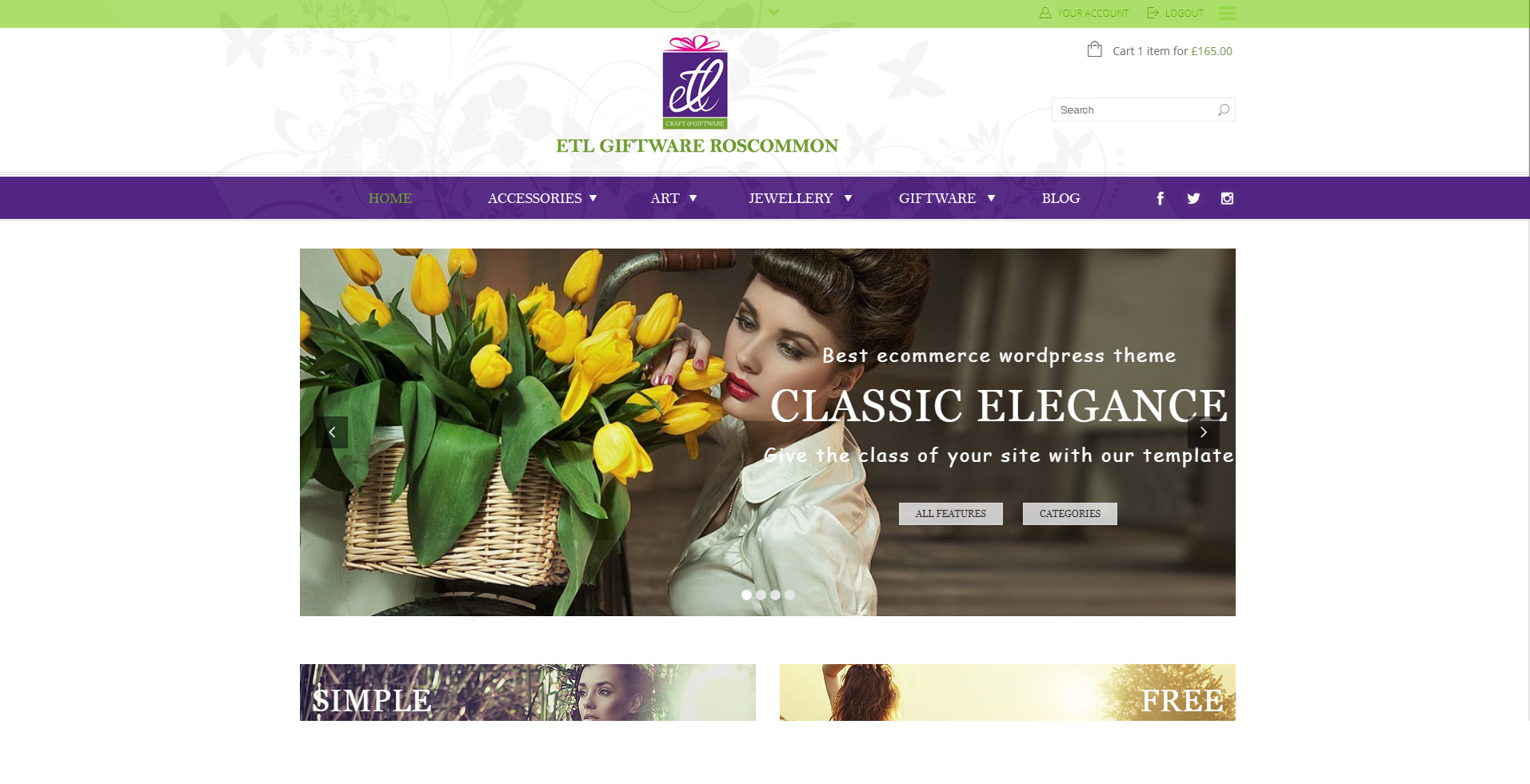 ETL Giftware Roscommon