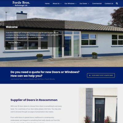 Forde Windows  www.fordewindowsdoors.ie