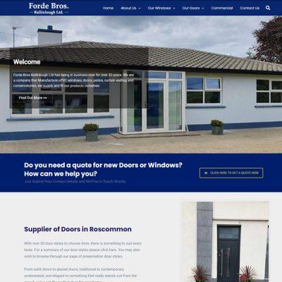 Forde Windows  www.fordewindowsdoors.ie