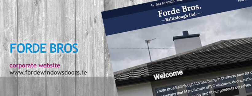 Forde Bros Windows Ballinlough